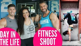Day In the Life Of A Bodybuilding.com Athlete || Fitness Photoshoot!