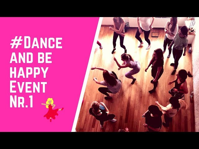 Dance and be happy Event Nr.1 April 2018 in Hamburg
