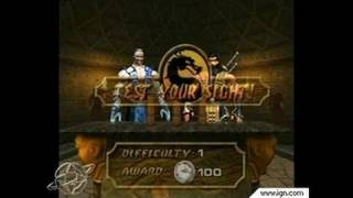 Mortal Kombat: Deadly Alliance GameCube Gameplay - Test