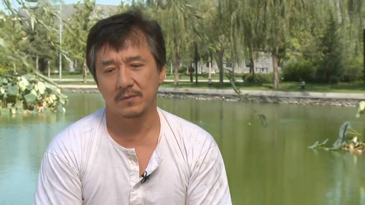 Jackie Chan Interview: The Karate Kid - YouTube