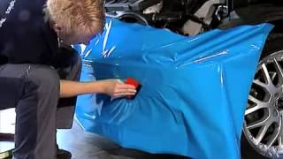 How to Wrap a Car installation help Guide Video vinyl by Avery