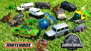 Unboxing Matchbox Jurassic World Vehicle Packs!