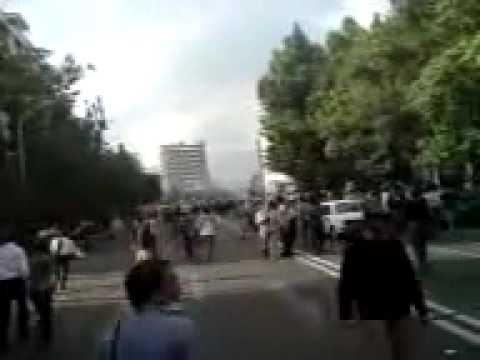 Tehran Protest June 20 2009 shootings(please share)
