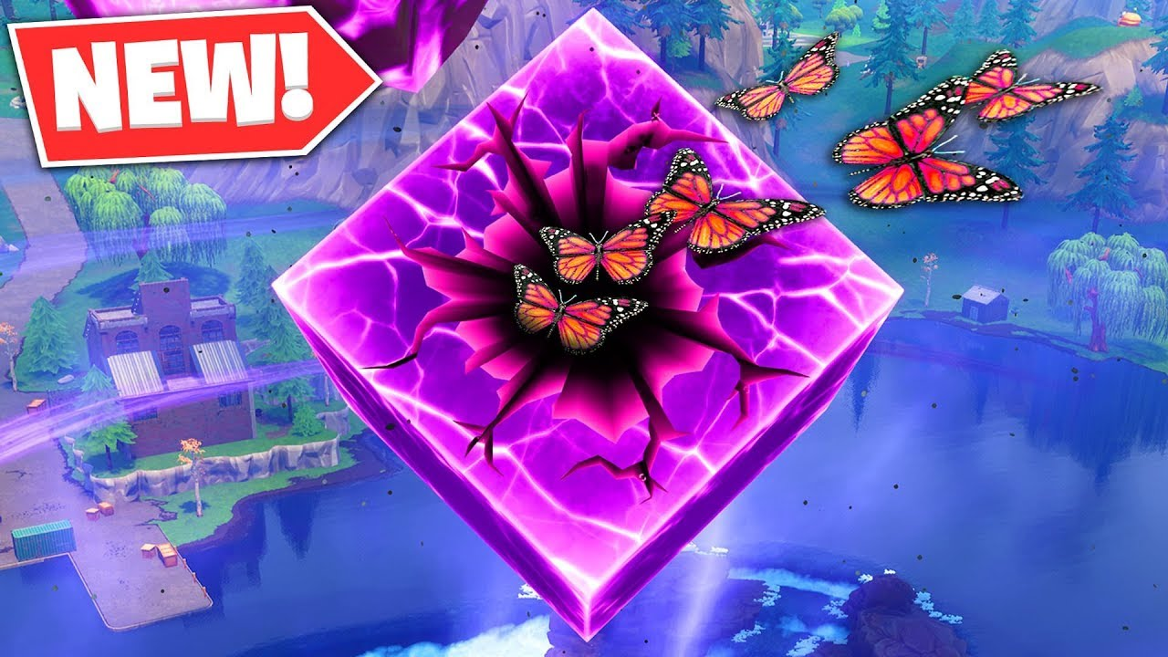 butterfly cube event happening fortnite new update - when is the new fortnite event happening