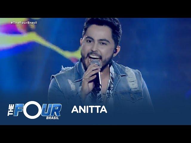 Ao som de Bang, de Anitta, Manso enfrenta desafio no The Four Brasil