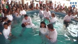 BAUTIZOS DE  23 DE  ABRIL  2017  CENTRO CRISTIANO  UREÑA TV