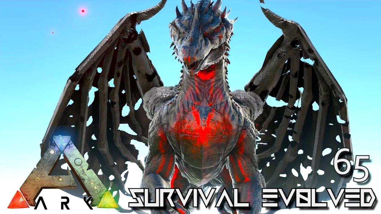 ARK: SURVIVAL EVOLVED - CHAOS DRAGON & CELESTIAL GRIFFIN E65 !!! ( PRIMAL  FEAR PYRIA )