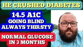 He Crushed Diabetes: A1c from 14.5 to 5.3 in 3 Months!