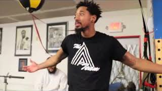 Nobody at MAYWEATHER GYM wanted to spar ME--  Demetrius Andrade
