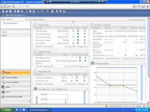 Microsoft Dynamics AX 2009 - Overview