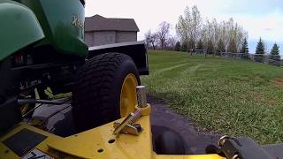 Video John Deere X500 with Johnny Bucket Jr. download MP3, 3GP, MP4, WEBM, AVI, FLV Juli 2018