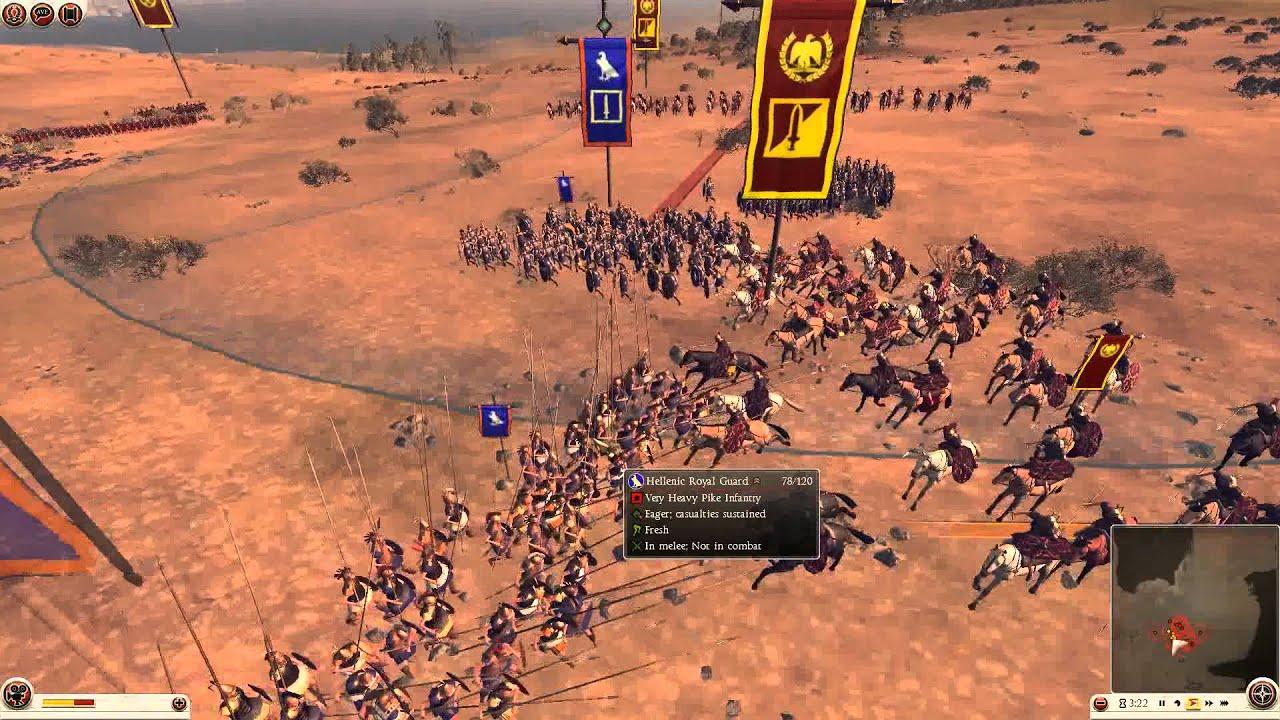 total war rome    battle  rome  egypt