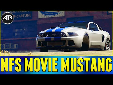 NEED FOR SPEED MOVIE MUSTANG BUILD!!! - GTA 5 PC Mods