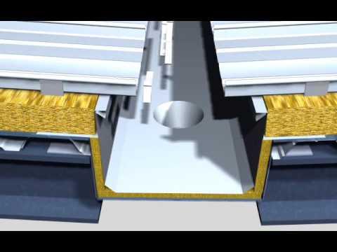 Watts RD-300-W Roof Drain with 4-in. Internal Water Dam ... |Metal Roof Internal Drain