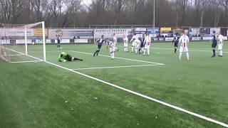 Klundert-Kloetinge: 0-3 door Jeroen de Jonge uit vrije trap