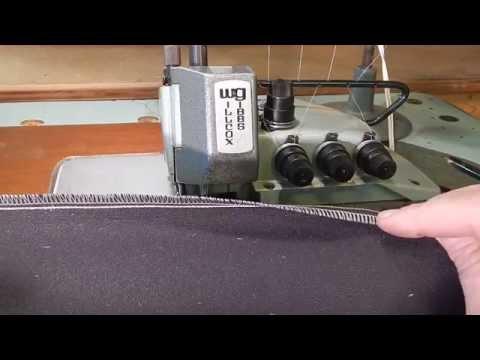 Willcox & Gibbs Type 515/IV-31 Overlock & Safety Stitch Industrial Sewing Machine
