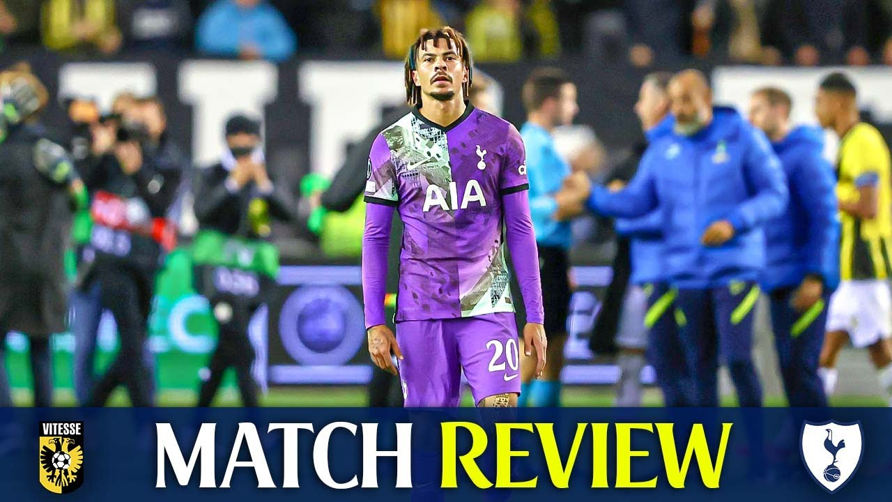Download Vitesse 1-0 Tottenham • Europa Conference League [MATCH REVIEW]