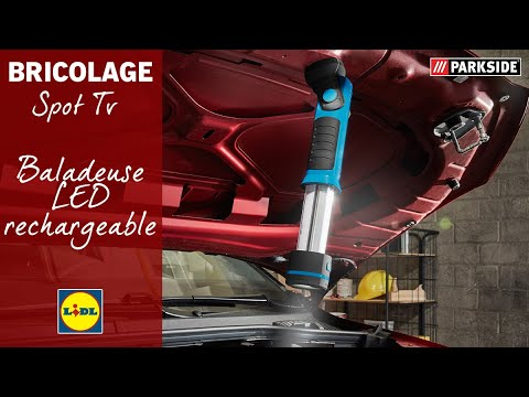Baladeuse Led Rechargeable Parkside Lidl France Youtube