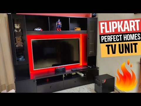 Flipkart Webster Entertainment TV Unit Review | Flipkart Perfect Homes
