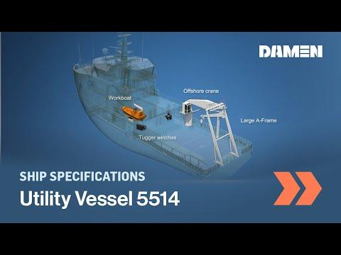 Damen Utility Vessel 5514