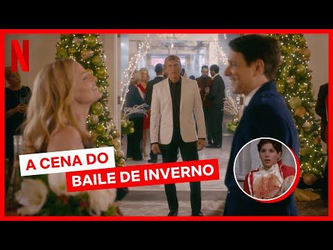 Elenco de Cobra Kai conta detalhes por trás da cena do Baile de Inverno | Netflix Brasil