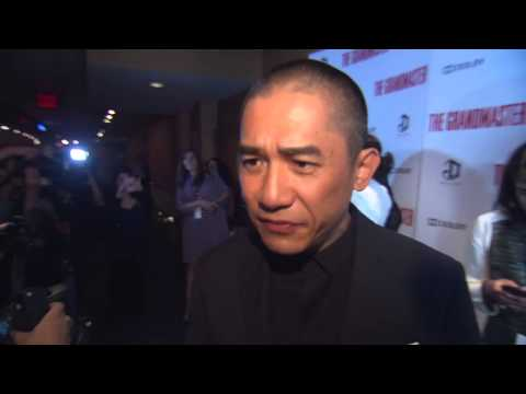 The Grandmaster NY Premiere -Tony Leung