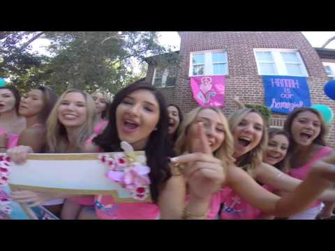 UOP 2016 Panhellenic Sorority Formal Recruitment