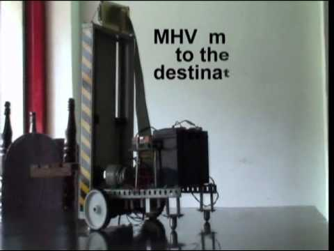 Working model of Material Handling Vehicle