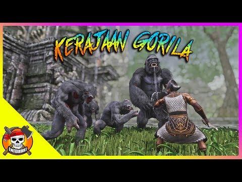 Di Sini Ada Kerajaan Gorila & Hajar Witch Queen - Conan Exiles Indonesia #8