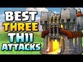 BEST THREE STRATEGIES at TH11   Town Hall 11 Attack Strategy   Clash of Clans