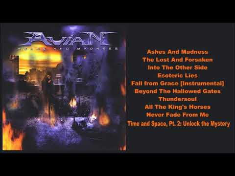 AVIAN (USA) - Ashes And Madness (2008) Full Album