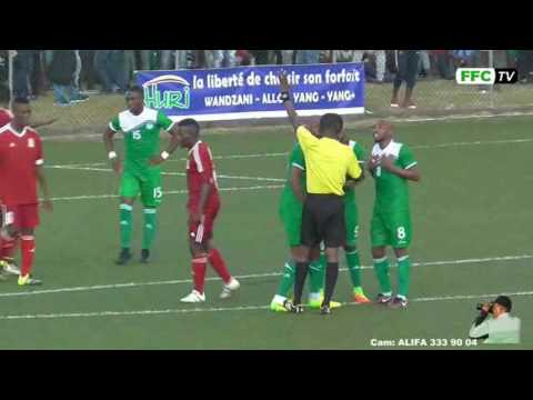Comores - Maurice Stade de Mitsamiouli ( Jugez vous mm ) 24/03/2017