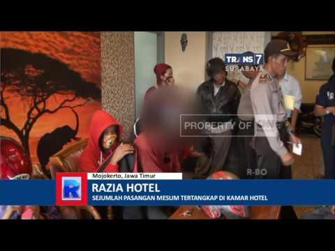 9 Pasangan Mesum Terjaring Razia Di Hotel