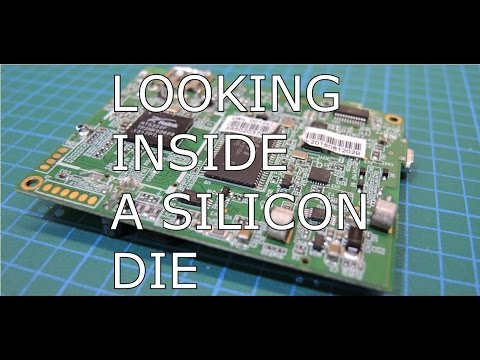 Looking Inside a Silicon Die