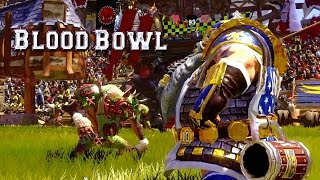 Dwarfs vs Skaven Gameplay Trailer - Blood Bowl 2