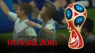 2018 FIFA World Cup ⚽️ Best Goals (Recreated in FIFA 18)