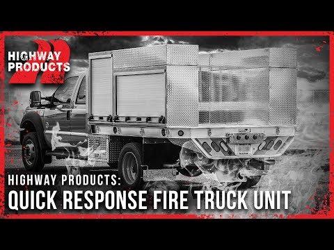 Highway Products | Quick Response Fire Truck Flatbed