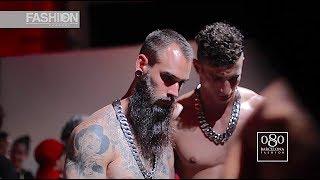 RAFAEL AMARGO AMORAMARGO Backstage 080 Barcelona Fashion Week Spring Summer 2018 - Fashion Channel