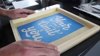 How To Make A Custom Reusable Stencil - IKONART Demo