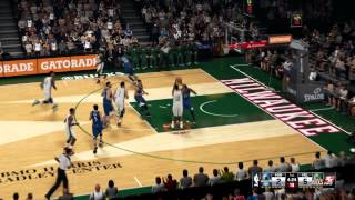 NBA 2k15 - Bucks vs Timberwolves PC Gameplay