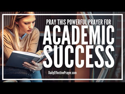 Prayer For Academics Success | Prayer For Academic Achievement, Excellence