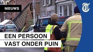 Pand ingestort na zware explosie in Coevorden