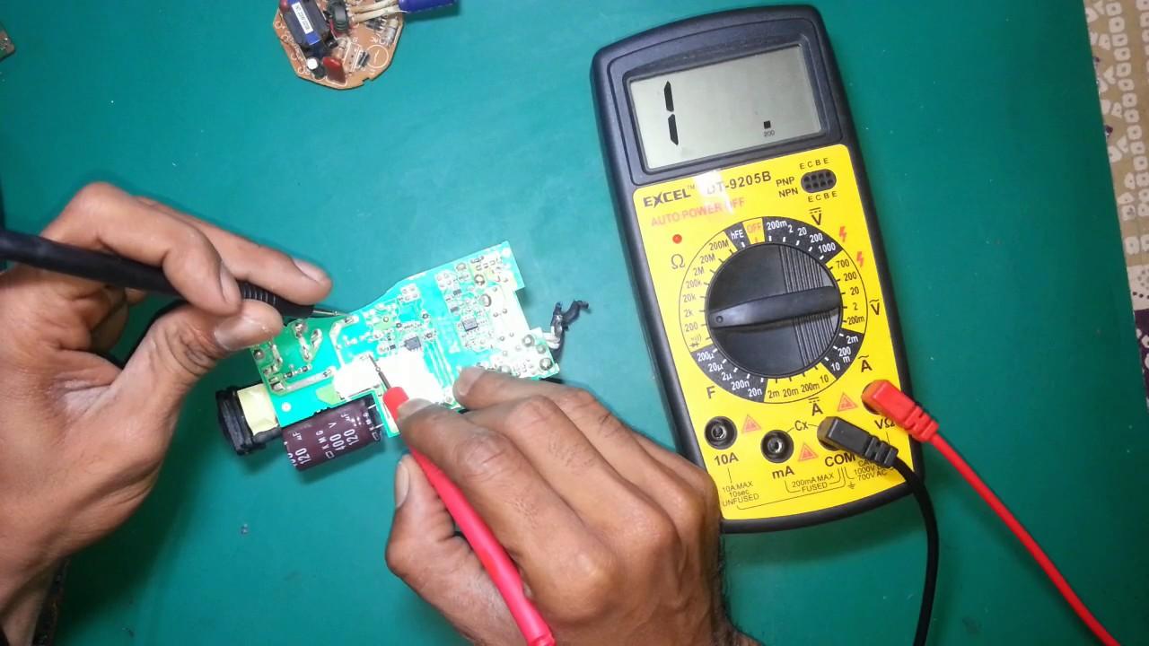 Digital Multimeter Se Coil Ko Kaise Check Kare Youtube Meter Also Led Matrix Circuit Diagram On Voltmeter Premium