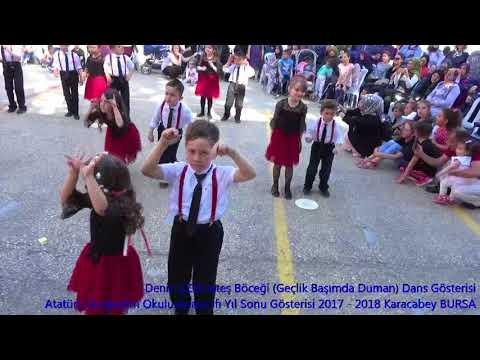 Deniz UZER Ateş Beceği(Geçlik Başımda Duman ) Dans Gösterisi