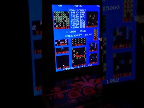 Nerd Nation👋🤓👍 arcade1up centipede and asteroid chatter from Arcade Kaos