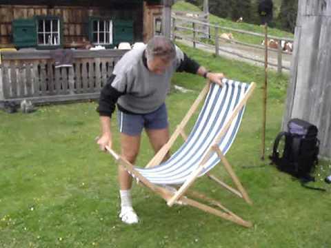 Klappliegestuhl ikea  Ewald und der Liegestuhl - YouTube