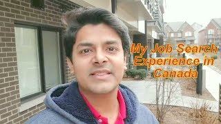 My Job Search Experience in Canada