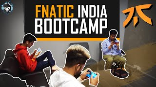 Fnatic India BOOTCAMP Reveal - A Tour of the PUBG Mobile Training Facility