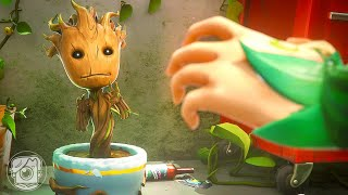BABY GROOT IS CAPTURED?! (A Fortnite Short Film)
