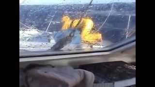 The worst of the storm, force 10, 52 knots Gale part 2